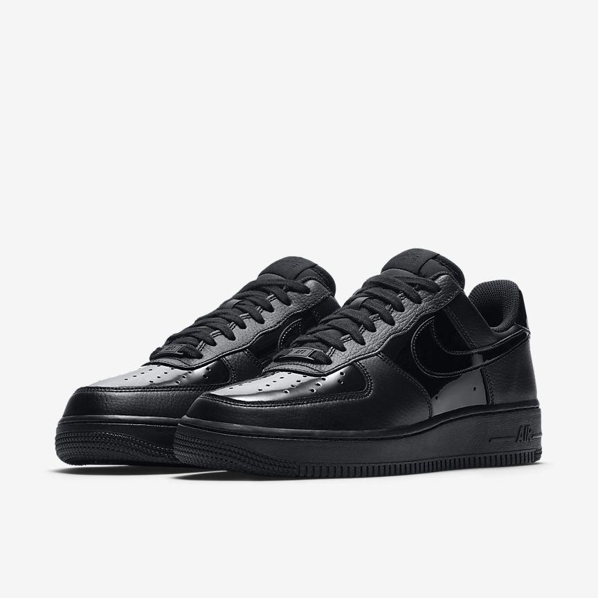 Nike Air Force 1 Femmes Noires AysEa6