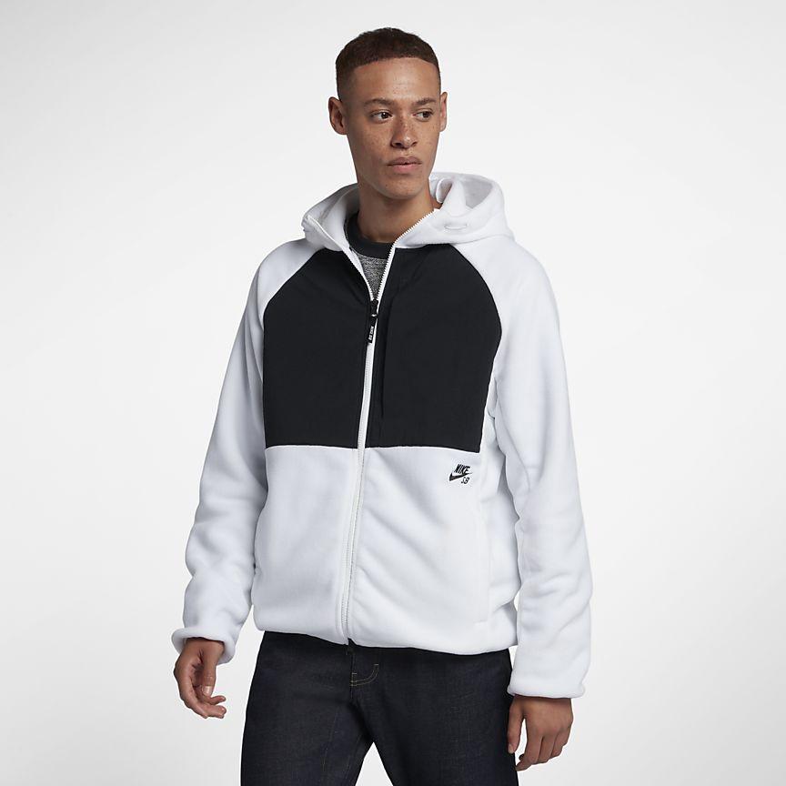 Nike - Nike SB Winterized Skateboard-Hoodie mit durchgehendem Reißverschluss für Herren - 1