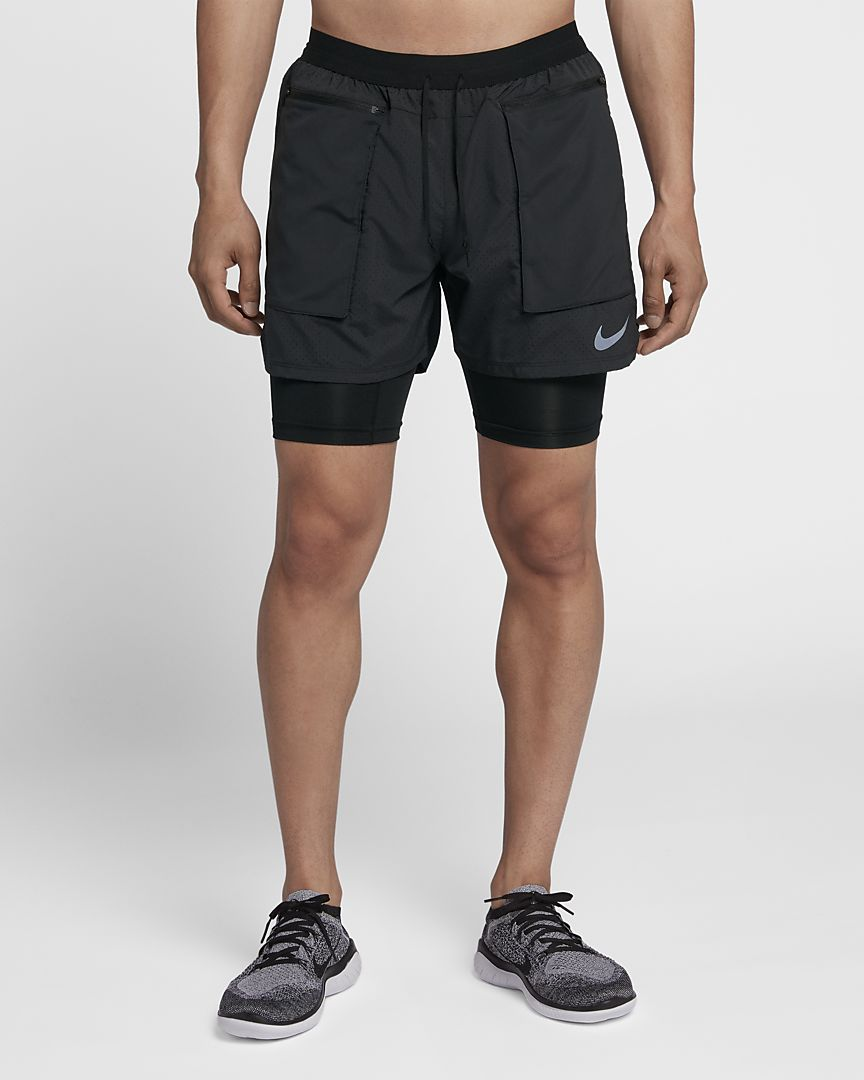 Running shorts exposed boys — pic 1