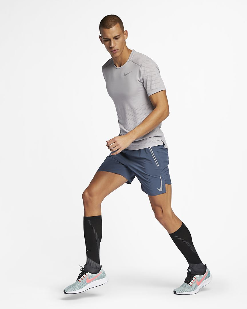 Nike - Nike Rise 365 Camiseta de running de manga corta - Hombre - 1