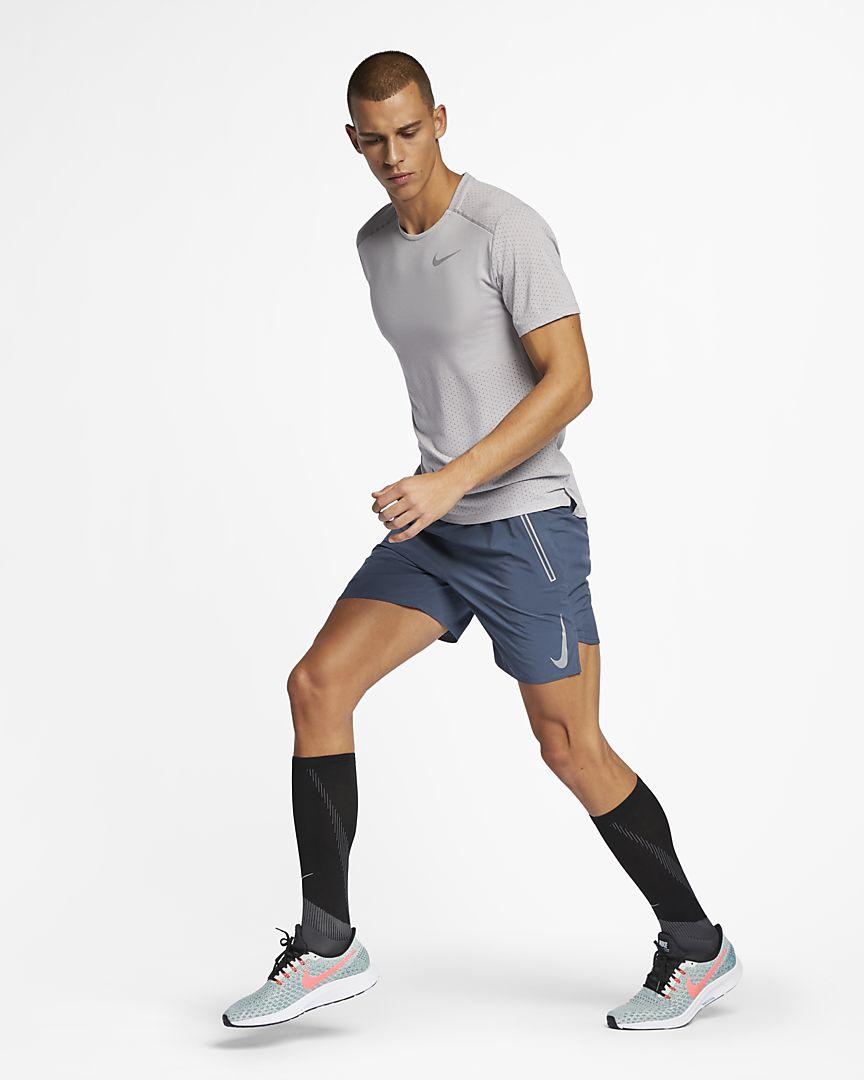 Nike - Nike Rise 365 Kurzarm-Laufoberteil für Herren - 1
