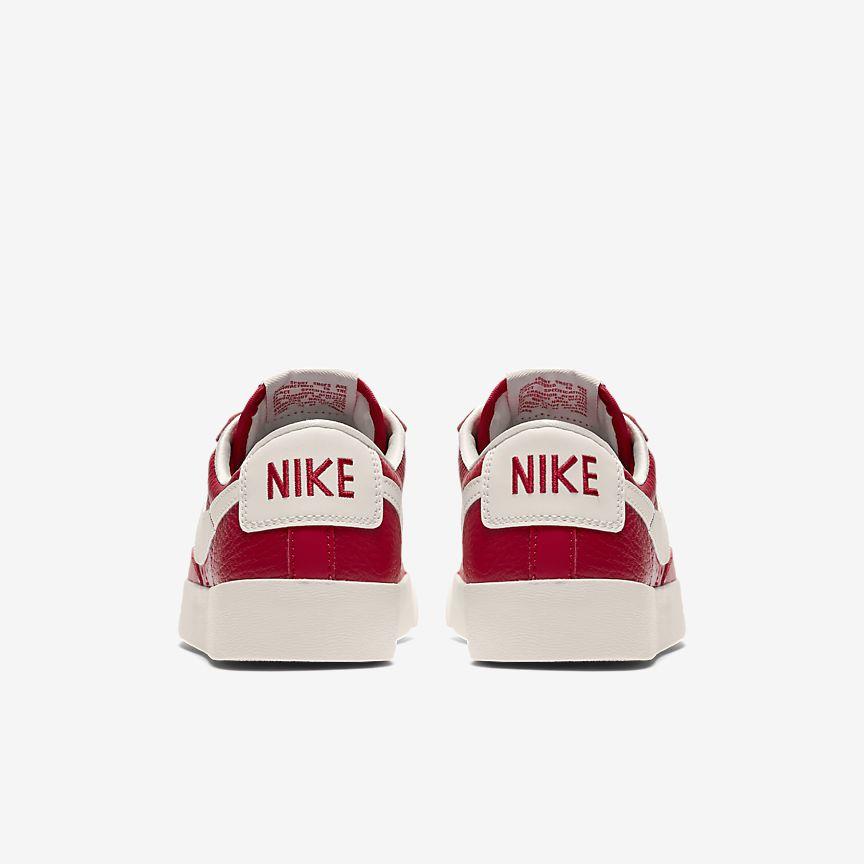 Nike Blazer Lave Kvinners Røde Sko O5tkuK6wHR