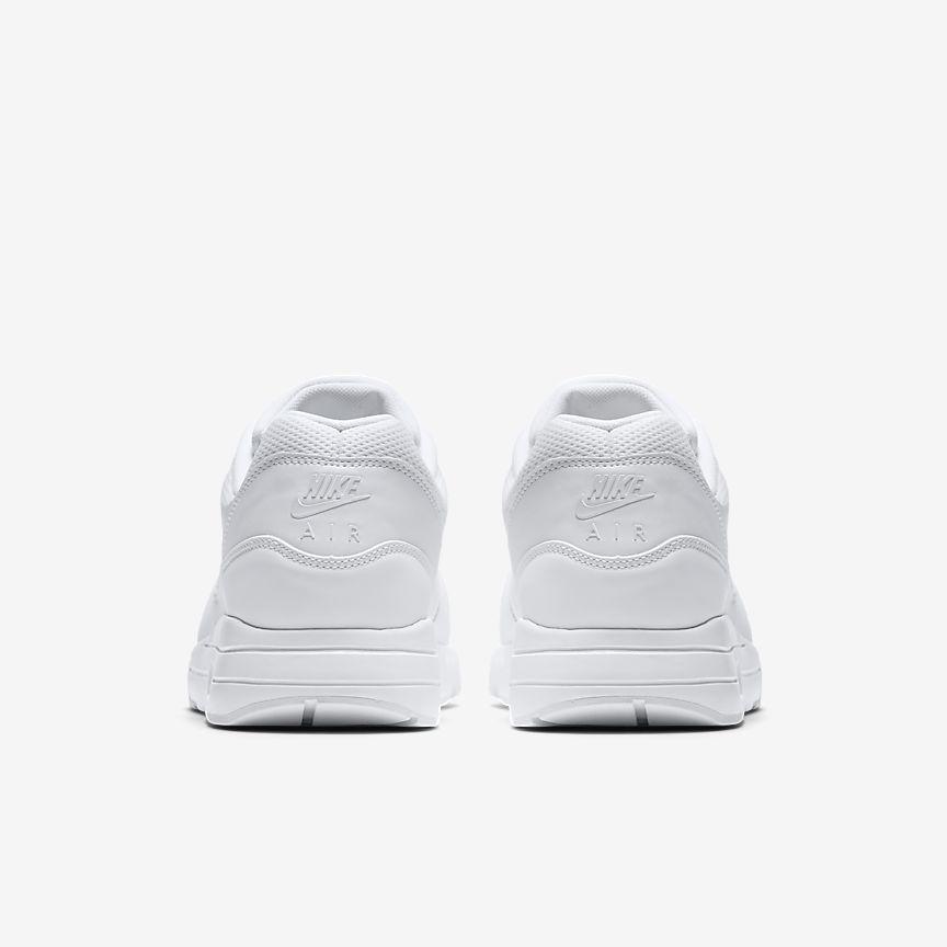 Nike Air Max 1 Essensielle Hvite Menns J4moc9AD