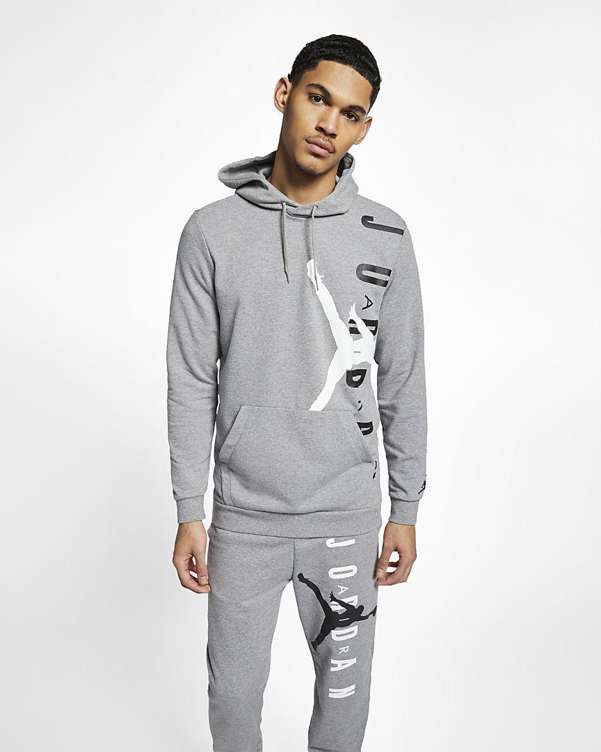 Nike - Jordan Jumpman Air Lightweight Fleece-Pullover für Herren - 1