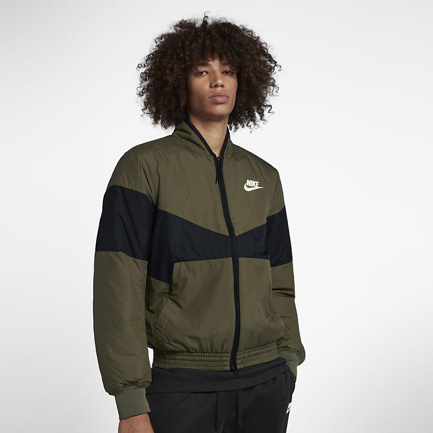 Nike - Nike Sportswear Synthetic Fill Grafik-Bomberjacke für Herren - 1