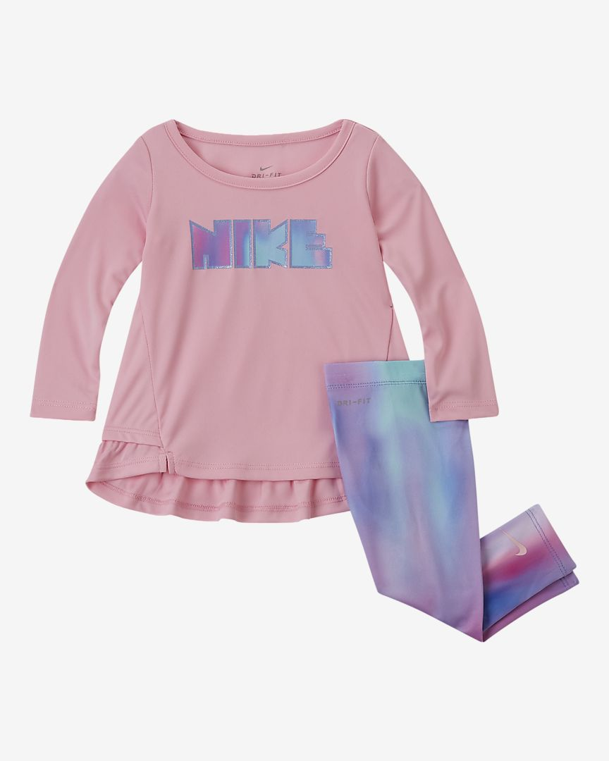 Nike - Nike Dri-FIT 2-teiliges Set für Kleinkinder - 1
