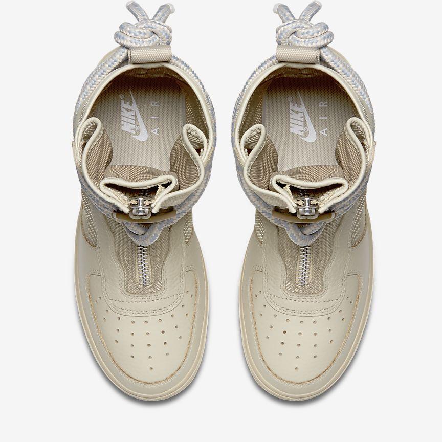 Nike Air Force 1 Botas Altas De Las Mujeres Blancas ZiWorLF