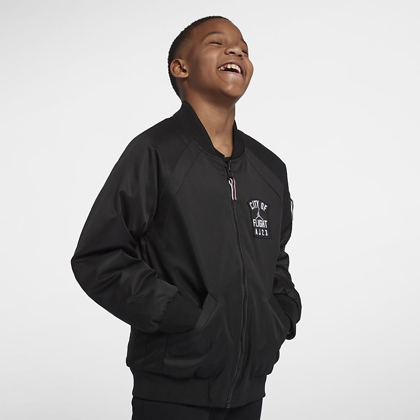 "Nike - Jordan ""City of Flight"" MA-1 Jacke für ältere Kinder - 1"