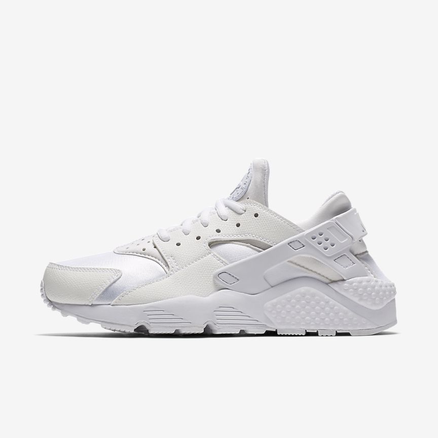 Nike Air Huaraches Triple De Salopette De Femmes Mono Blanc UY5M1