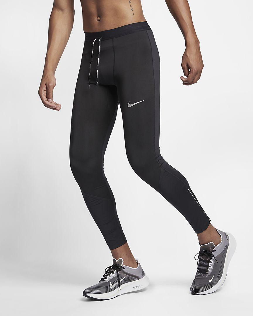 Nike - Nike Power Tech Lauf-Tights für Herren (ca. 69 cm) - 1