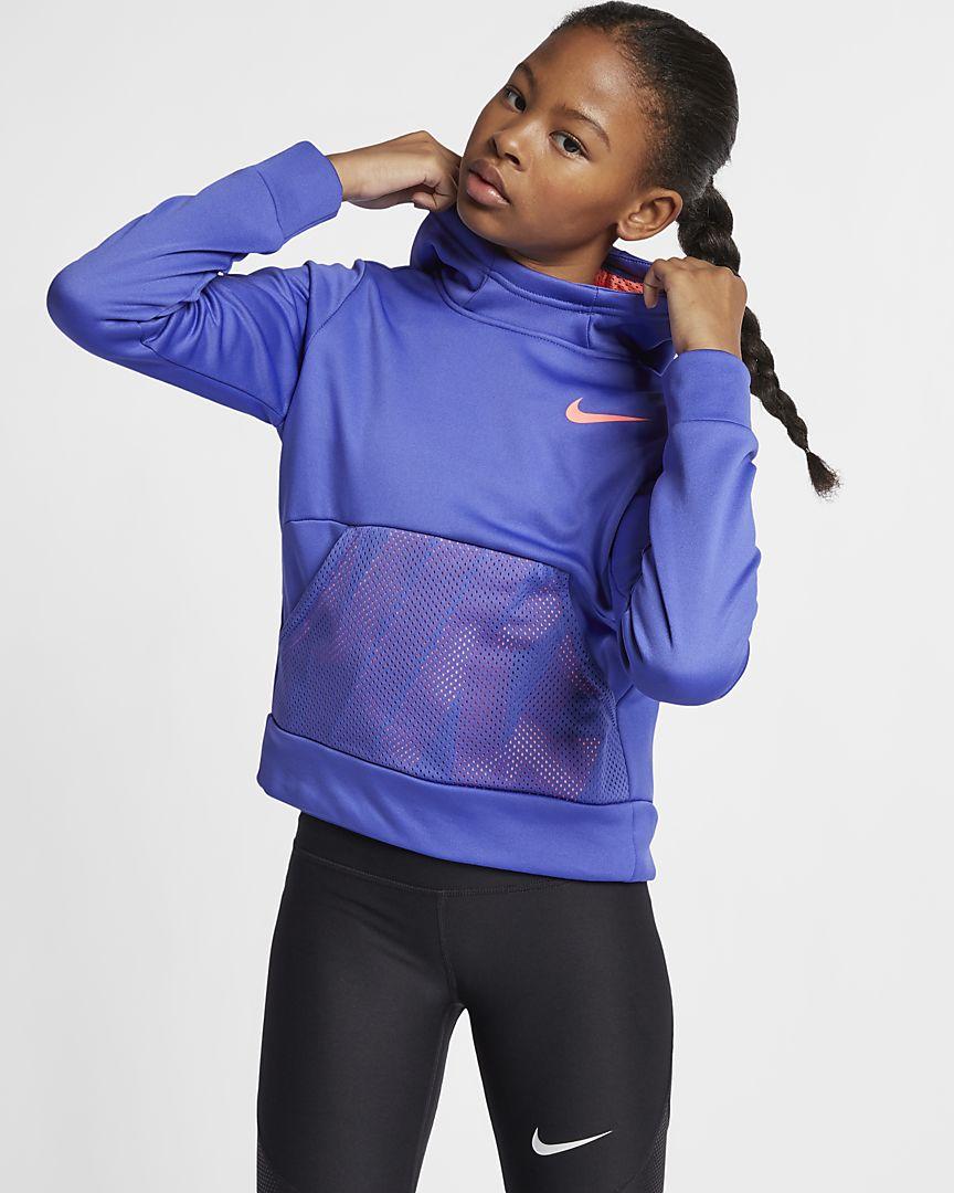 Nike - Nike Dri-FIT Therma Trainings-Pullover-Hoodie für ältere Kinder (Mädchen) - 1