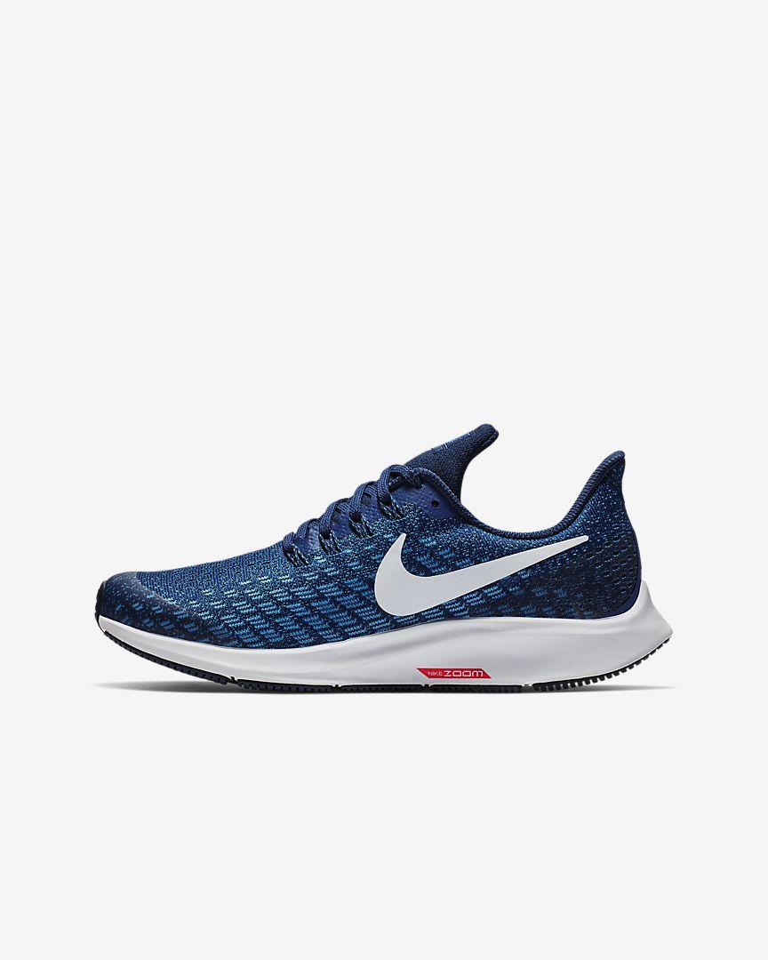 Nike - air zoom pegasus 35 younger/older  running shoe - 1