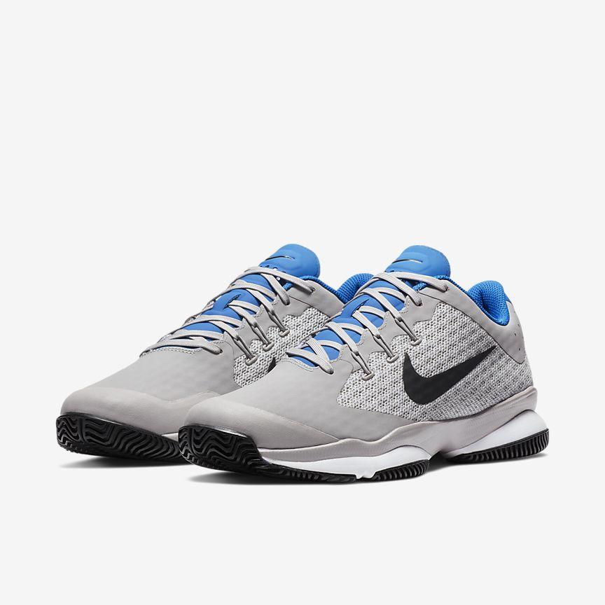 Blanco Nike Hombres Clásico Del Tenis 12 Shoes- / Brillo Azul k24Nmof