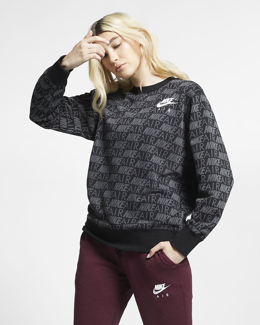 Nike - Nike Air Damen-Rundhalsshirt mit Print - 1