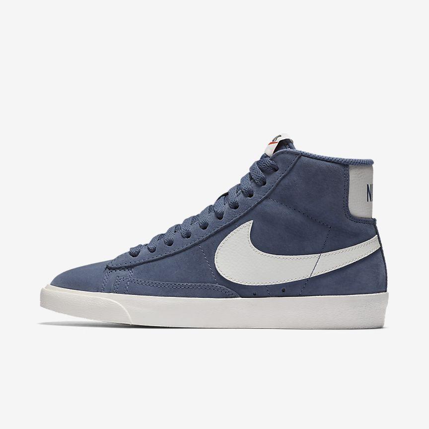 Nike Blazer Mid Kvinners Hvit Blazer bHe9nMiP
