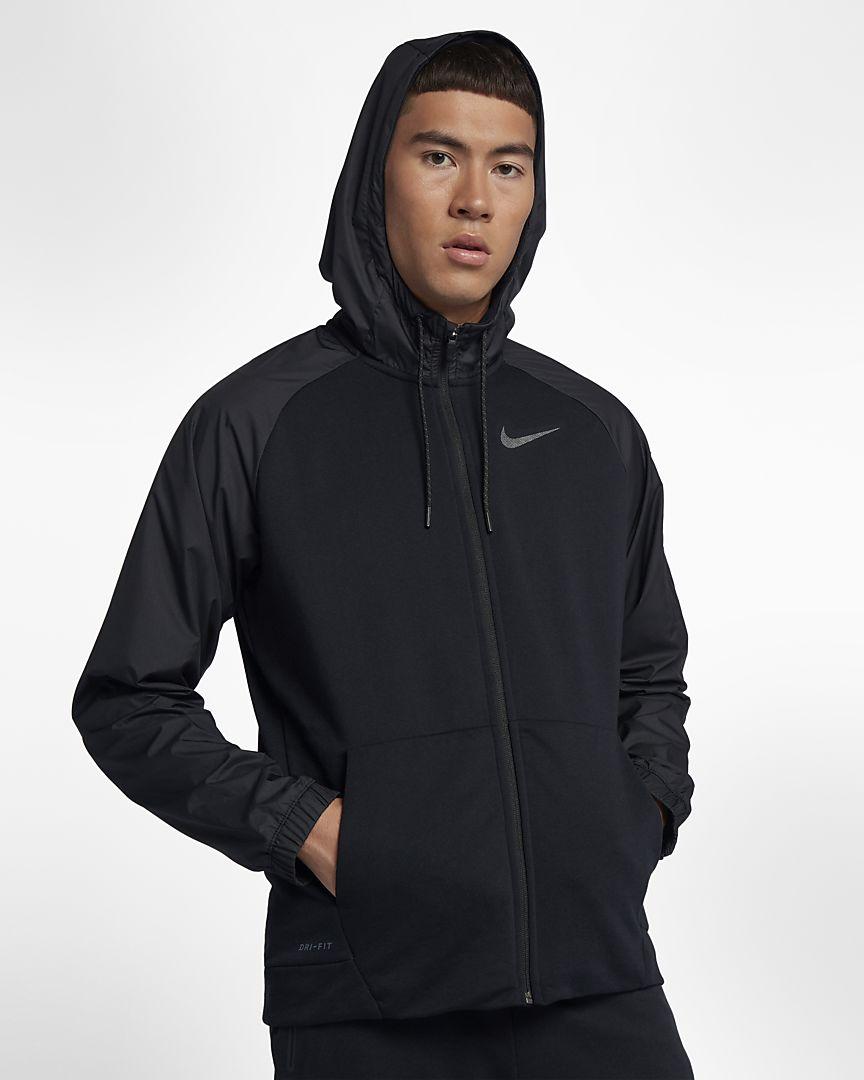 Nike - Nike Dri-FIT Utility-Trainings-Hoodie mit durchgehendem Reißverschluss für Herren - 1