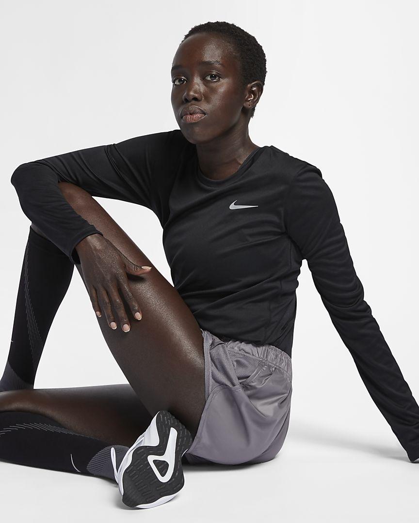 Nike - Nike Miler Damen-Laufoberteil - 1