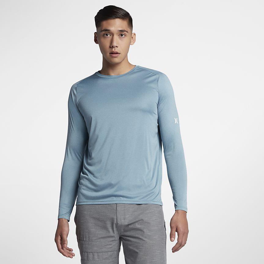 Nike - Hurley Icon Quick Dry Langarm-Surf-Shirt für Herren - 1