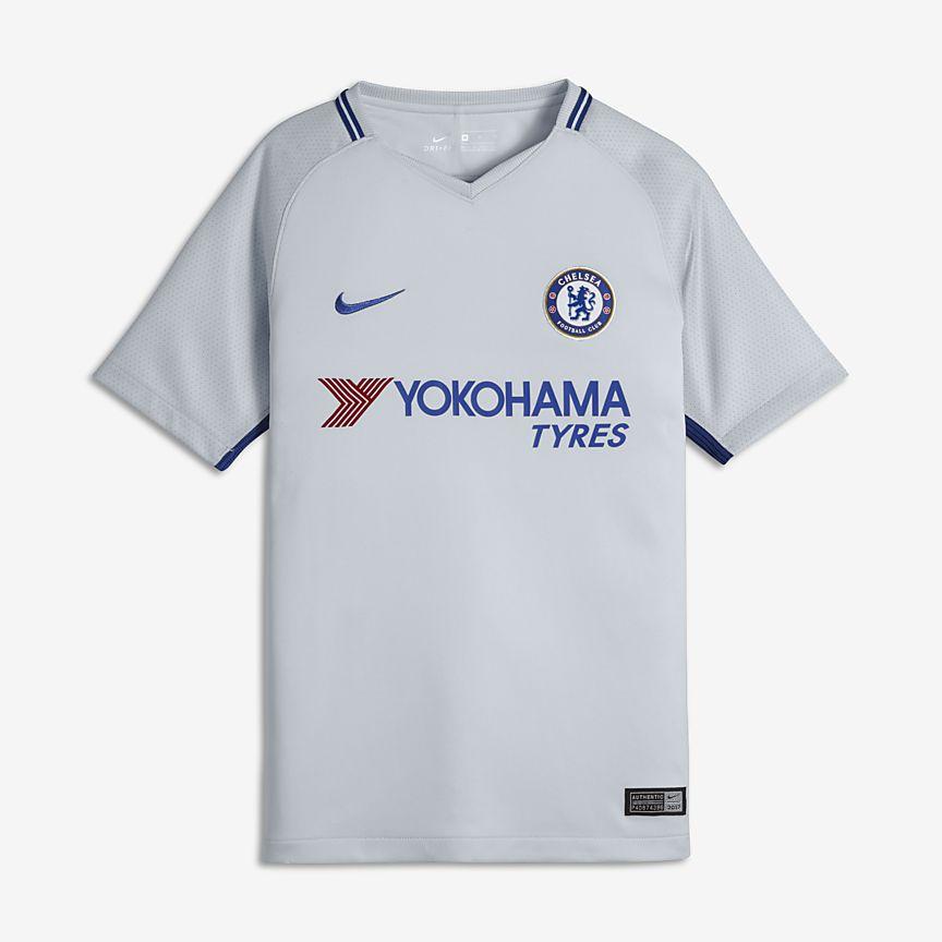 Nike - 2017/18 Chelsea FC Stadium Away Fußballtrikot für ältere Kinder - 1