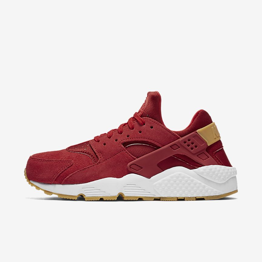 Nike Para Mujer Huarache De Aire Roja UtOWg9C