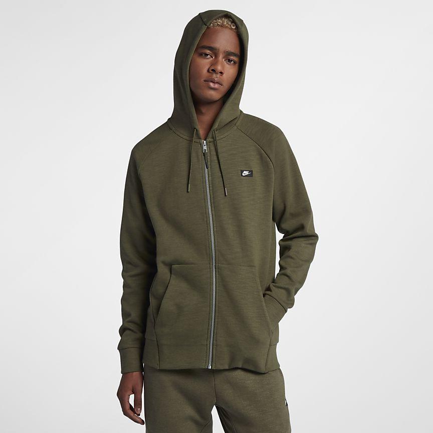 Nike - Nike Sportswear Optic Herren-Hoodie mit durchgehendem Reißverschluss - 1