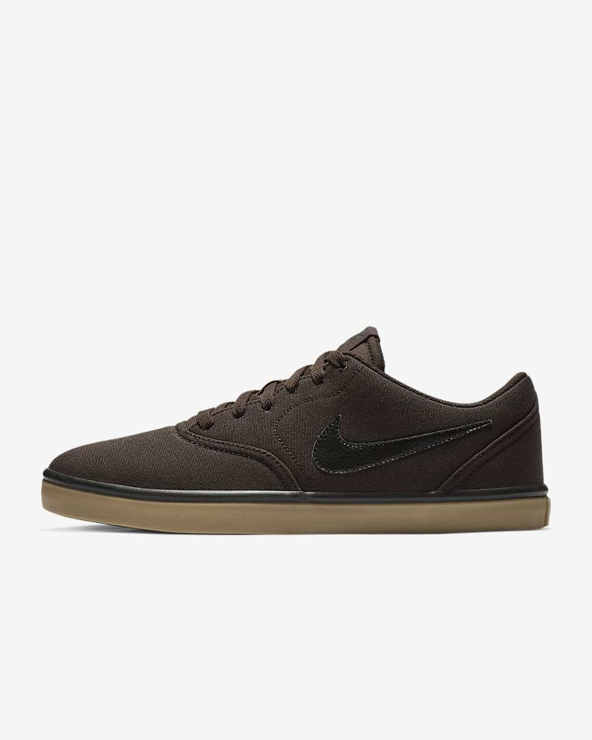 Nike - sb check solarsoft canvas  skateboarding shoe - 1