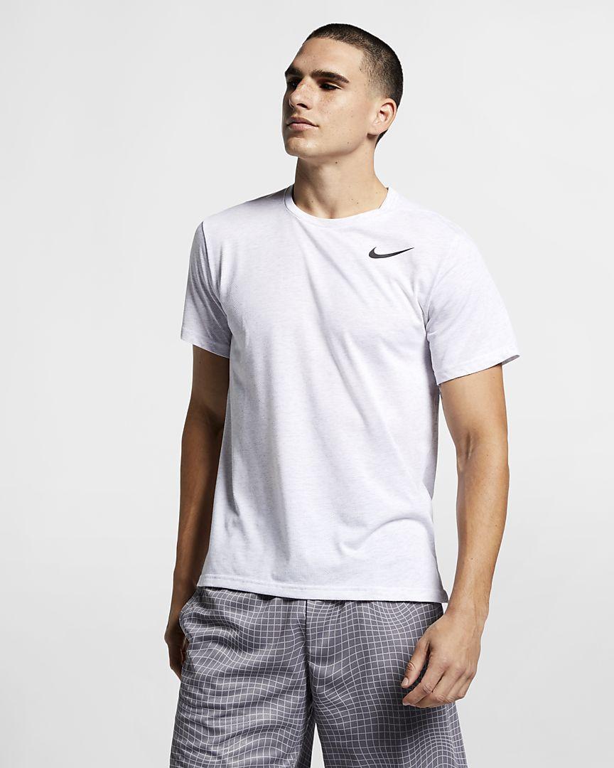 Nike - Nike Breathe Kurzarm-Trainingsoberteil für Herren - 1