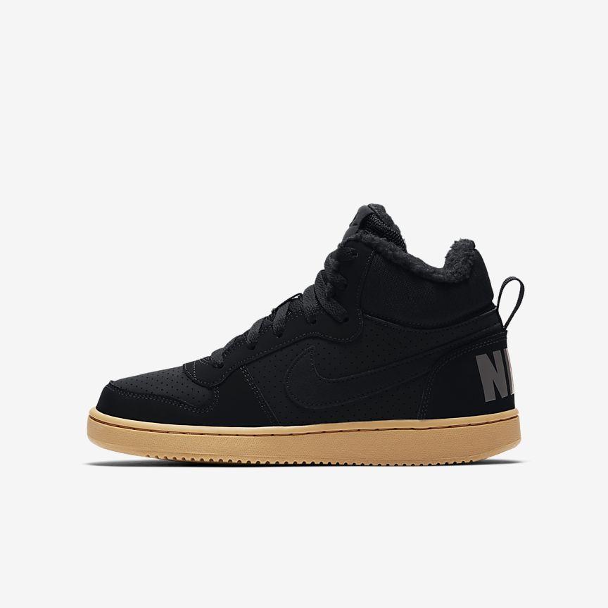 Nike - Nike Court Borough Mid Winter Schuh für ältere Kinder - 1