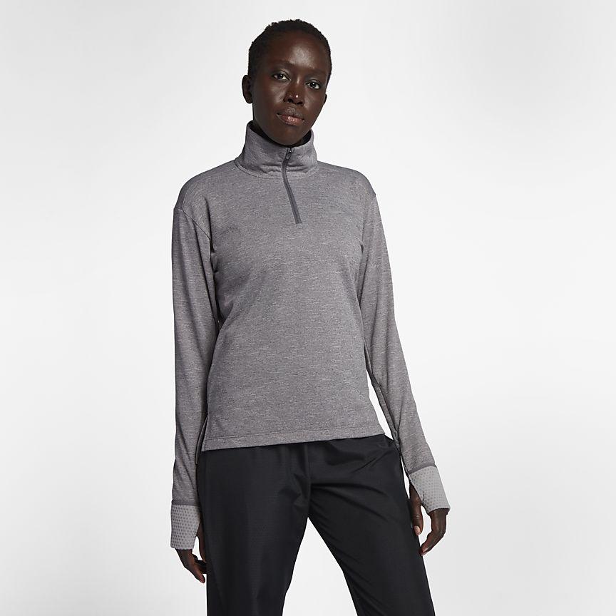 Nike - Nike Therma Sphere Laufoberteil mit Halbreißverschluss für Damen - 1