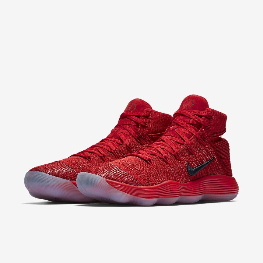 Røde Nike Sko Basketball Sko vamrb
