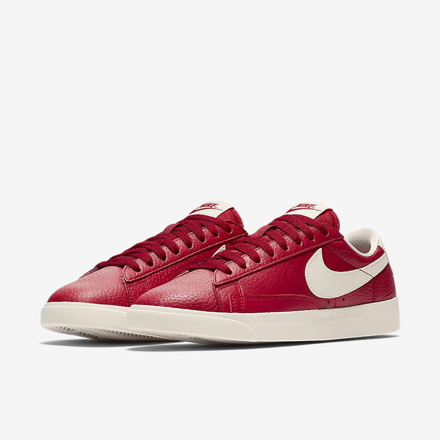 Nike Blazer Premium Cuir Engobe Blanc 9Ttw1DrP