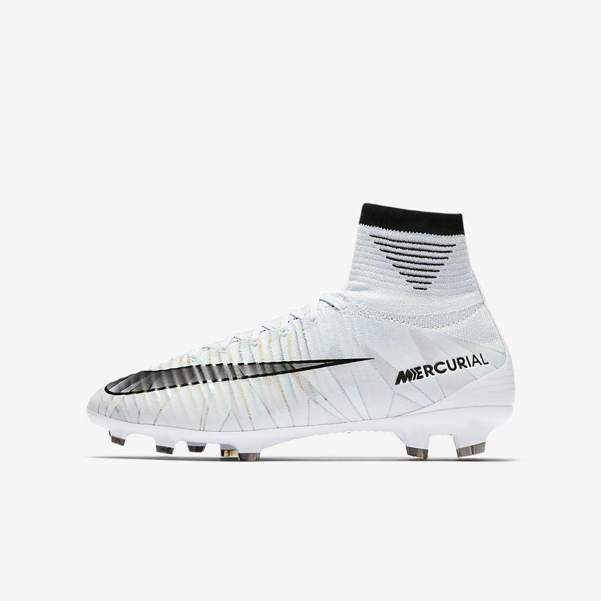 Nike - Chaussure de football à crampons pour terrain sec Nike Jr. Mercurial Superfly V CR7 Dynamic Fit pour Jeune enfant/Enfant plus âgé - 1