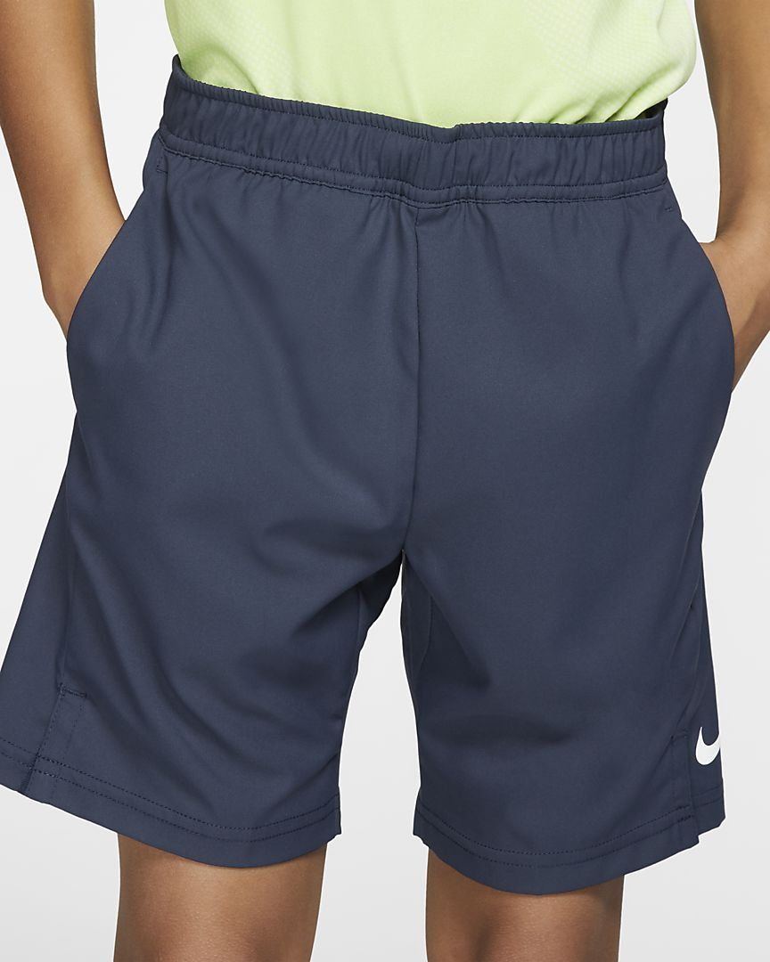 Nike - court dri-fit older  (boys') tennis shorts - 1