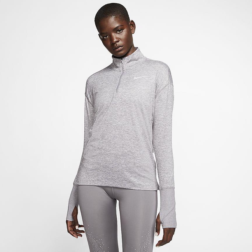 Nike - Nike Laufoberteil mit Halbreißverschluss für Damen - 1