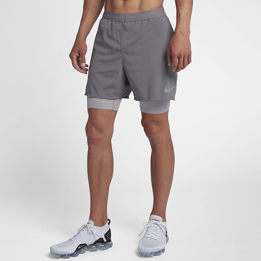 Nike - Nike Flex Stride 2-in-1 Herren-Laufshorts (ca. 12,5 cm) - 1