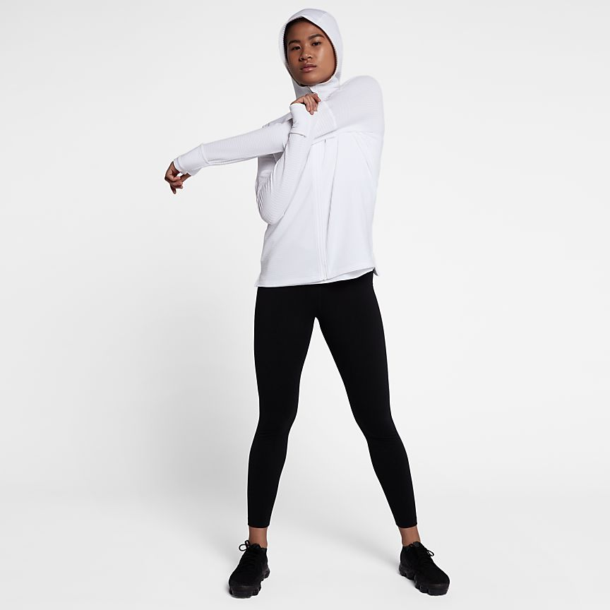 Nike Running Vestido Blanco De Las Mujeres 2TBEuUgRx3