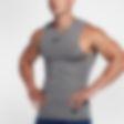 Low Resolution Nike Pro ujjatlan férfi edzőfelső