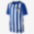 Low Resolution 2017/18 Hertha BSC Stadium Home Fußballtrikot für ältere Kinder