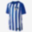 Low Resolution Camiseta de fútbol para niños talla grande Hertha BSC de local para aficionados, temporada 2017/18