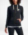Low Resolution Nike Sportswear Gym Vintage hosszú cipzáras, kapucnis női pulóver