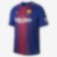 Low Resolution 2017/18 FC Barcelona Stadium Home Men's Football Shirt