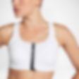 Low Resolution Nike Zip Damen-Sport-BH mit mittlerem Halt