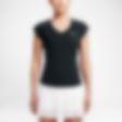 Low Resolution Женская теннисная футболка NikeCourt Pure