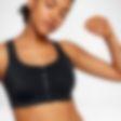 Low Resolution Sport-BH med mediumstöd Nike Zip för kvinnor