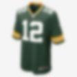 Low Resolution NFL Green Bay Packers (Aaron Rodgers) hjemmedrakt til amerikansk fotball for herre