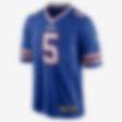 Low Resolution NFL Buffalo Bills Game (Tyrod Taylor) férfi amerikaifutball-mez