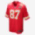 Low Resolution NFL Kansas City Chiefs (Travis Kelce) Men's American Football Game Jersey