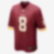 Low Resolution NFL Washington Redskins (Kirk Cousins) Herren-Football-Heimtrikot