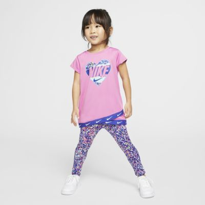 Nike Dri-FIT Toddler Tunic Top and Leggings Set