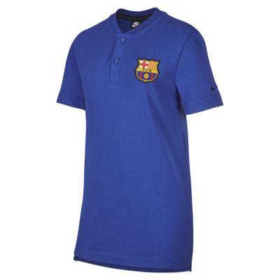 FC Barcelona Fußball-Poloshirt für ältere Kinder